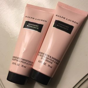 midnight romance lotion and shower gel